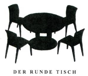 der runde tisch. Black Bedroom Furniture Sets. Home Design Ideas